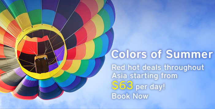 Learn More about Oakwood Asia Colors of Summer Deals