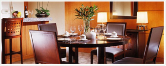 Furnished Apartments-Dining Room
