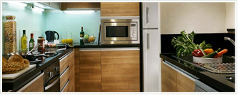 Furnished Apartments-kitchen